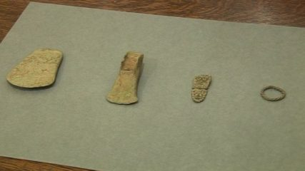 Viking and Bronze Age artefacts sent to museum by anonymous