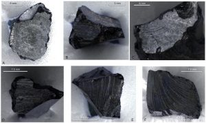 Lumps of tar identified as bitumen from Syria (by Ars Technica)