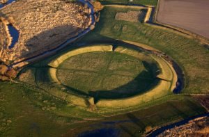 The Borgring Viking ringfort (by Danish Castle Center via Live Science)
