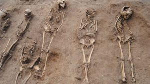 Numerous burials unearthed (by University of Sheffield)