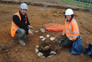 Excavations at Llanfaethlu (by CR Archaeology)