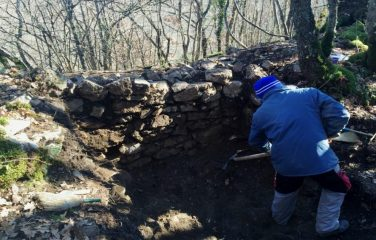 Excavations at the late antiquity site in Macedonia