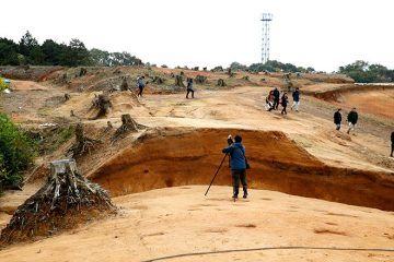 Ancient hilltop earthwork fortifications found in Japan