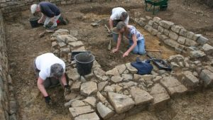 Excavations at the site (by SW Heritage Trust)