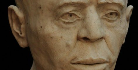 Facial reconstruction of a Neolithic man