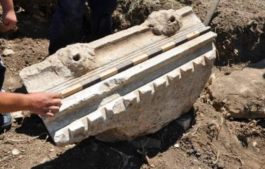 Roman temple of heroes unearthed in Macedonia
