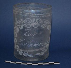 Ornamented glass vessel (by Wyborcza)