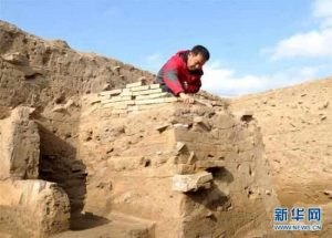 Excavations at Huanghua (by People's Daily Online)
