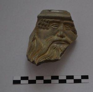 Bearded ornament of a jug (by Wyborcza)