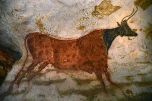 One of many paintings at Lascaux cave (by D Nidos, via International Business Times)