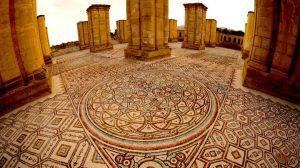 The floor mosaic (by CNN)