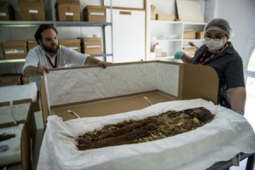 World's oldest mummies undergo modern investigation