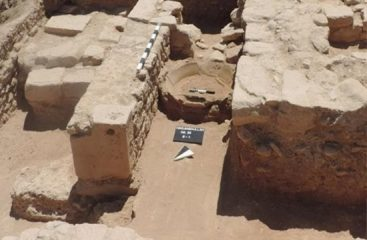 Citadel wall found near Sanctuary of Aphrodite on Cyprus