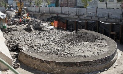 Temple of the ancient Wind God discovered in Mexico City