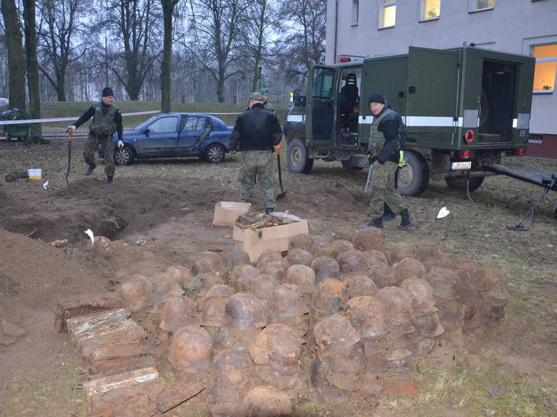 WW2 ammunition, unexploded ordnance, helmets and more found