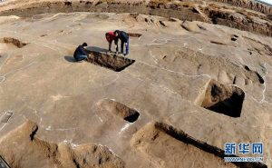 Excavations at the site (by People's Daily Online)