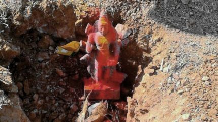 Ancient idol discovered in southern India