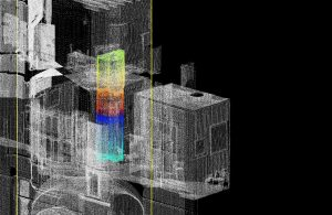 3D scan of the Coughton Court (by Stratford-upon-Avon Herald)