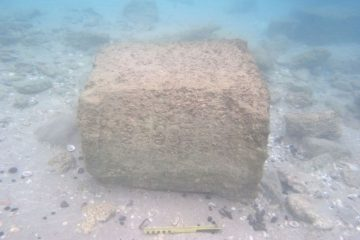 Underwater archaeologists discover Roman inscription from eve of Bar-Kochba Revolt
