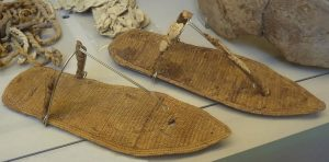 Sandals found in queen Nefertari's tomb (by Seeker)