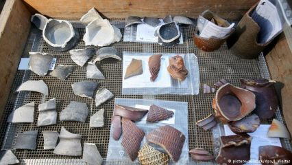 Hoard of 15th-century disposable cups found