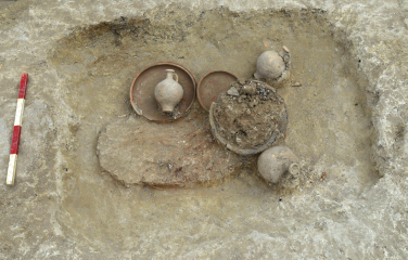 Anglo-Saxon settlement dating to 6th century AD unearthed