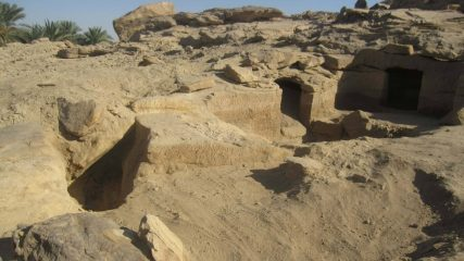 Dozens of tombs dating back even to 16th cent. BC discovered in Aswan