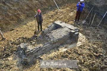 1000-years-old brick tomb discovered in central China