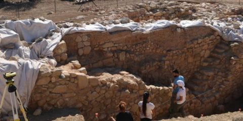Stone rampart discovered in Ancient Paphos