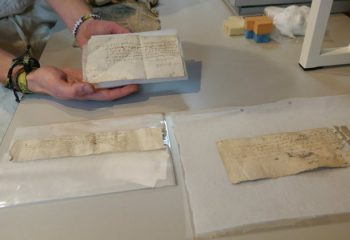 Three historic letters found under floorboards of Tudor mansion
