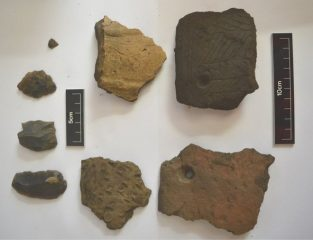 Discovery of Neolithic tools and pottery