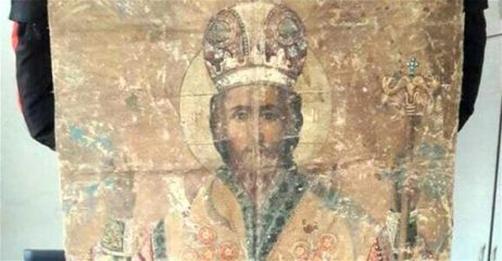 18th century icon seized in East Turkey