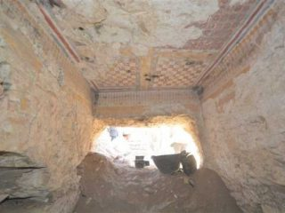 Ancient Egyptian tomb from times of Ramses found in Luxor