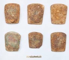 4000-year-old copper axes discovered in India