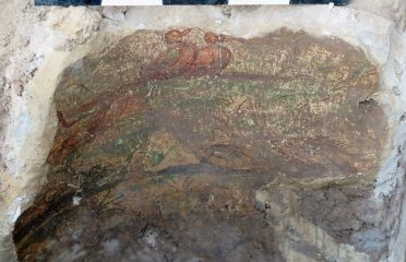 Ancient Roman house with frescoes discovered