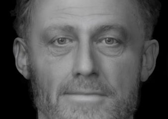 Facial reconstruction of a Medieval poor man