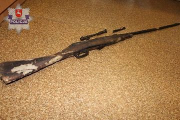 World War I rifle found in peat