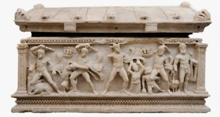 Switzerland returns a sarcophagus smuggled in the 1960s from Turkey