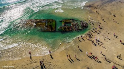 Historic shipwreck re-emerges off coast of Florida