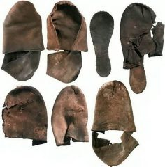 Huge trove of Tudor-era shoes unearthed