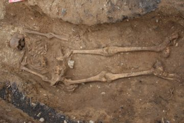 School construction unearths 1500-year-old skeleton