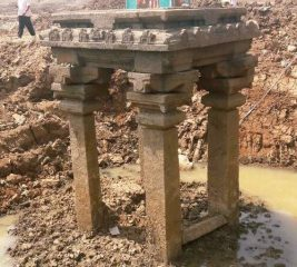 A follow-up to the structure discovered at Hosakerehalli Lake