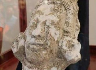 Head of a Mayan god accidentally discovered in Mexico