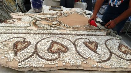 Restoration of the Great Basilica mosaic continues - a follow-up