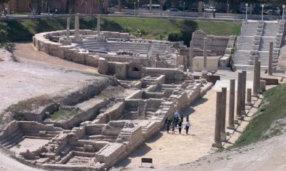 Ancient district of Alexandria opened to public