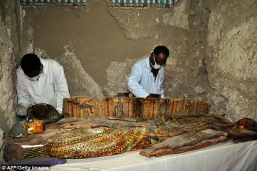 Numerous find of Pharaonic mummies at Luxor