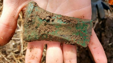 Trove of bronze axe heads discovered in Norway