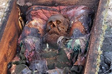 Grave of a Tsarist Russian officer discovered in Turkey