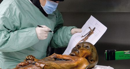 Study shows Ötzi the Iceman froze to death