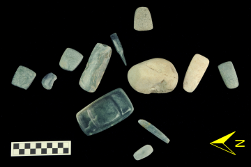 Trove of Mayan jade and serpentine stones discovered
